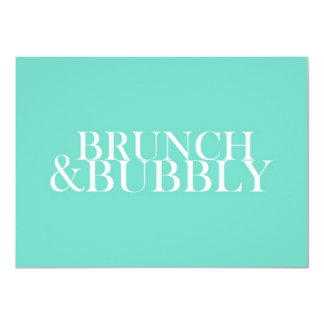 Brunch And Bubbly Card