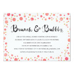 Brunch & Bubbly | Bridal Shower Invite
