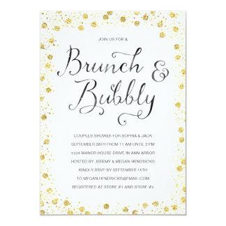 Brunch & Bubbly | Couples Shower Invite