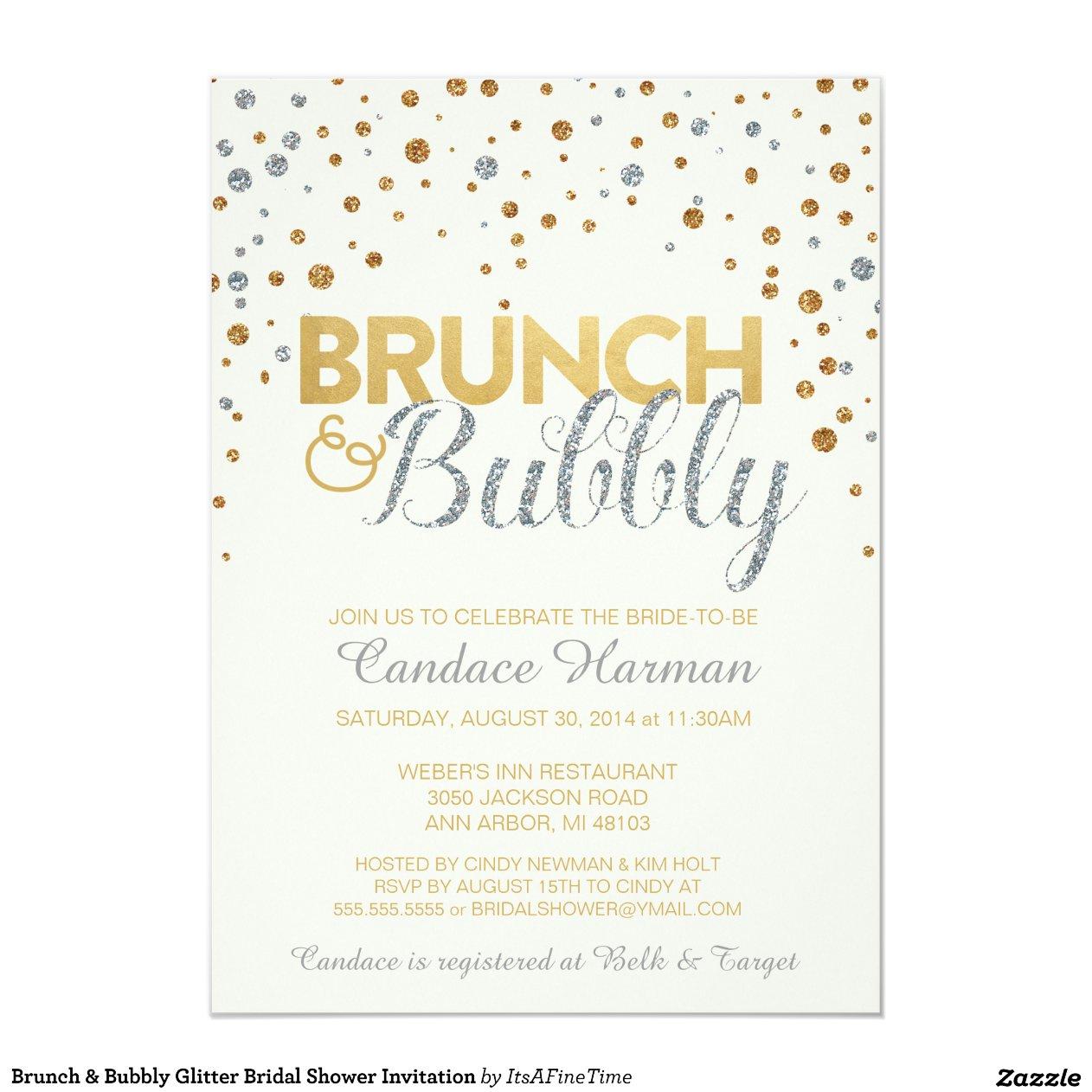 Brunch Invites was perfect invitation sample