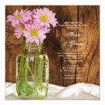 Brunch del boda del poste del país de las invitación 13,3 cm x 13,3cm