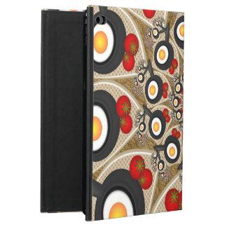 Brunch Fractal Art Funny Food, Tomatoes, Eggs Powis iPad Air 2 Case