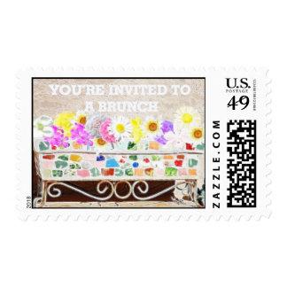 Brunch Invite Postage