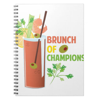 Brunch Of Champions Notebook