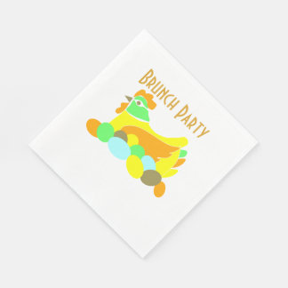 Brunch Party Paper Napkin