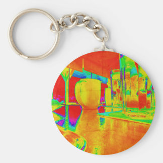 Brunch Time Perspective Keychain
