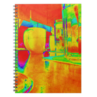 Brunch Time Perspective Spiral Note Books