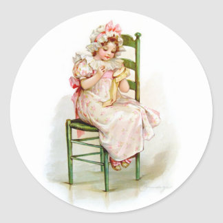 Brundage: A Fair Virginian Classic Round Sticker