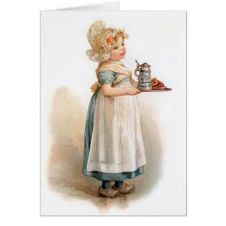 Brundage: A Knickerbocker Maid Card