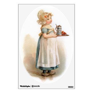 Brundage: A Knickerbocker Maid Room Decal