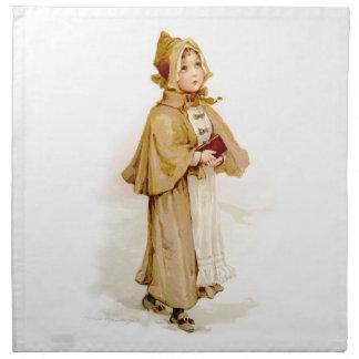 Brundage: A Young Puritan Cloth Napkin
