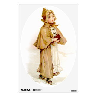 Brundage: A Young Puritan Room Stickers