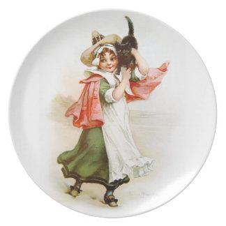 Brundage: Little Salem Witch Dinner Plate