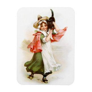 Brundage: Little Salem Witch Rectangle Magnets