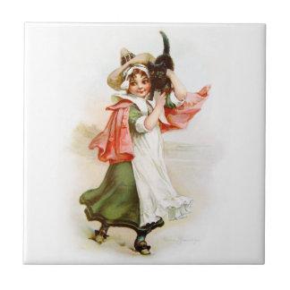 Brundage: Little Salem Witch Tile