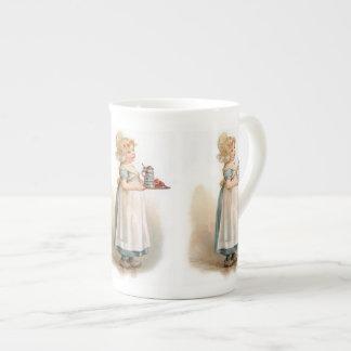 Brundage: Una criada de Knickerbocker Taza De Porcelana