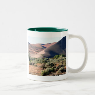 Bruneau Dunes Point Two-Tone Coffee Mug