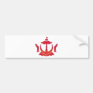 Brunei Coat of Arms Bumper Sticker