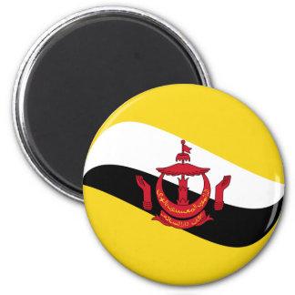 Brunei Fisheye Flag Magnet