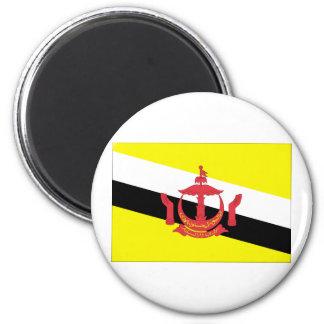 Brunei Flag 2 Inch Round Magnet