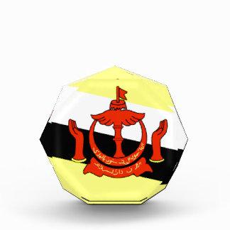 Brunei Flag Acrylic Award