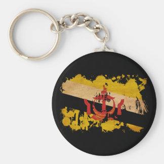 Brunei Flag Basic Round Button Keychain