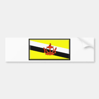 Brunei Flag Bumper Stickers