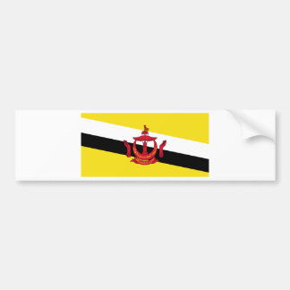 Brunei Flag Bumper Sticker