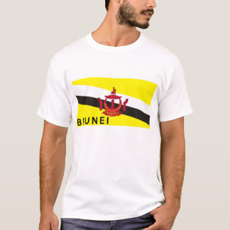 brunei flag country text name T-Shirt