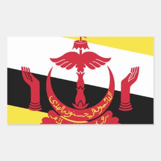 Brunei Flag Rectangular Sticker
