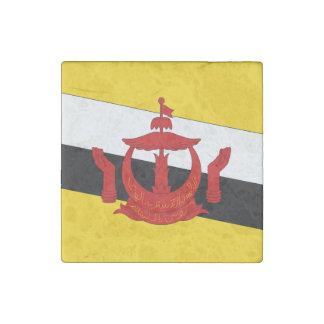 Brunei Flag Stone Magnet