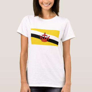 Brunei Flag x Map T-Shirt