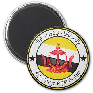 Brunei  Round Emblem Magnet