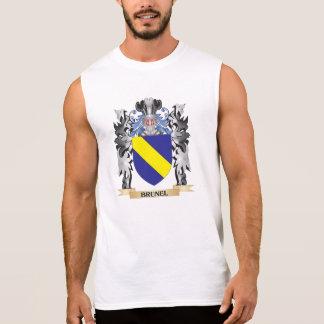 Brunel Coat of Arms - Family Crest Sleeveless Tee