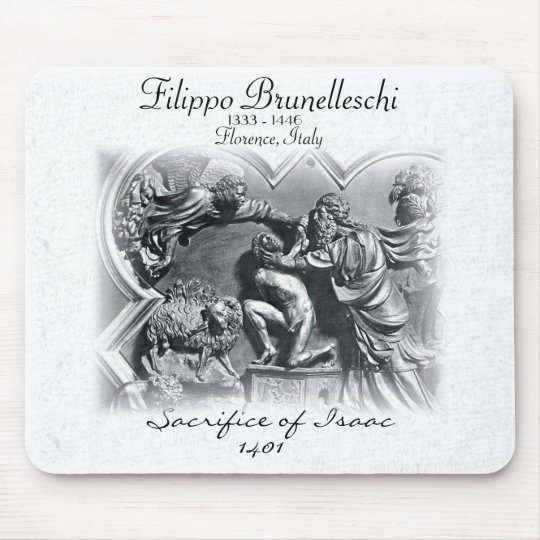 BRUNELLESCHI - 1333 - 1446 MOUSE PAD