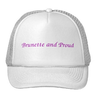 Brunette and Proud Hat