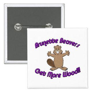 Brunette Beavers Get More Wood Pin