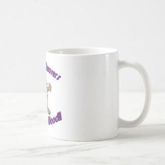 Brunette Beavers Get More Wood Coffee Mugs