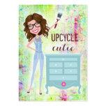 Brunette de 311 Upcycle Cutie Plantillas De Tarjeta De Negocio