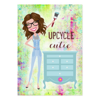 Brunette de 311 Upcycle Cutie Tarjetas De Visita Grandes