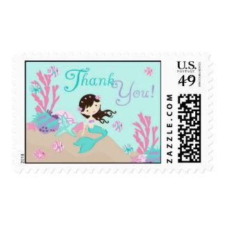 Brunette del sello de little mermaid TY