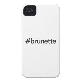 brunette iPhone 4 Case-Mate cárcasas