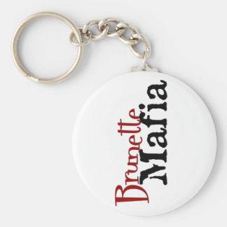 Brunette Mafia - Keychain