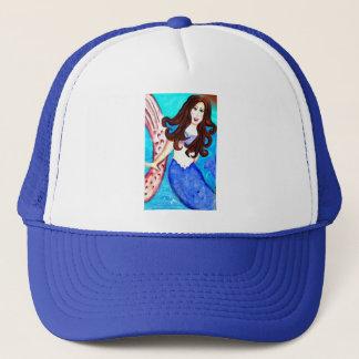 brunette mermaid hat