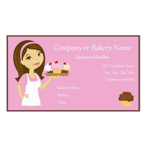 bakery business card templates page23 bizcardstudio. Black Bedroom Furniture Sets. Home Design Ideas