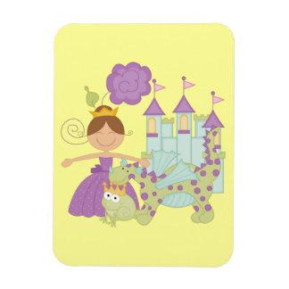 Brunette Princess Magnet