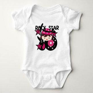 Brunette Rock Star Girl T Shirt