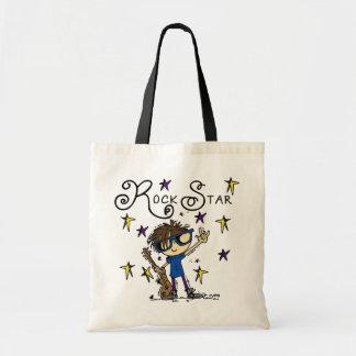Brunette Rock Star Tote Bag