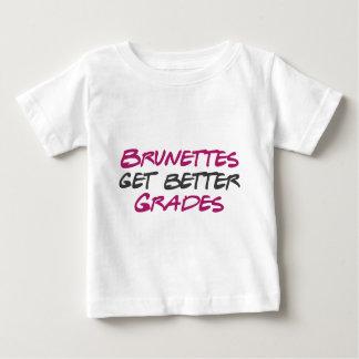 Brunettes Get Better Grades Baby T-Shirt