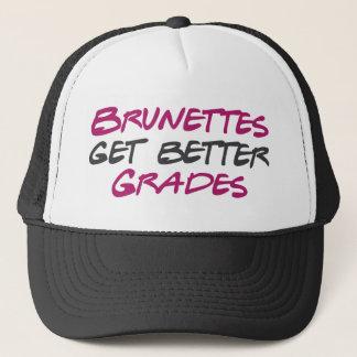 Brunettes Get Better Grades Trucker Hat